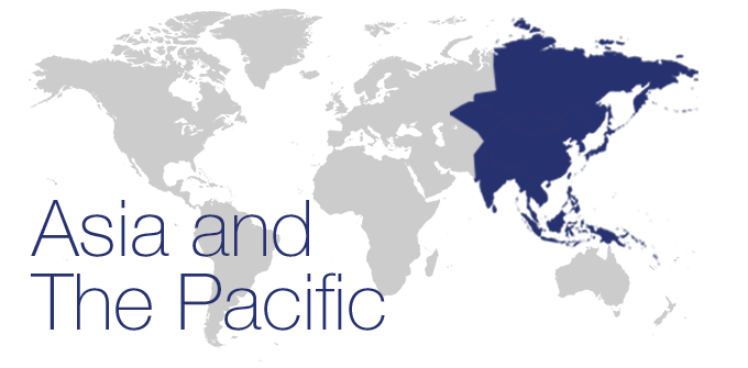 Map Asia Pacific